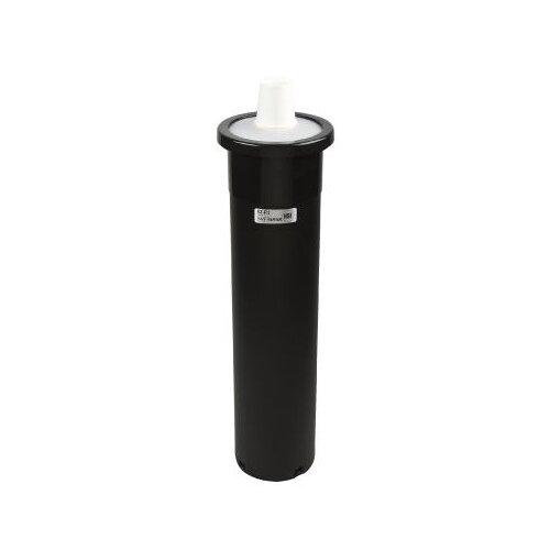 San Jamar EZ-Fit One-Size-Fits-All Cup Dispenser in Black