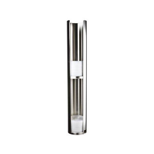 San Jamar Wall-Mount Lid Dispenser, Stainless Steel