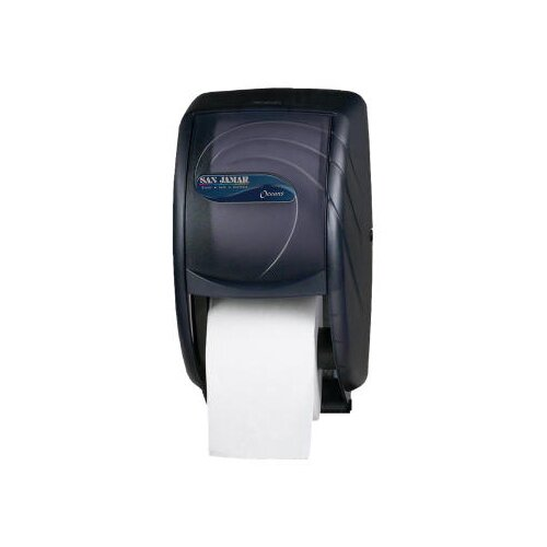 San Jamar Duett Toilet Tissue Dispenser in Black Pearl