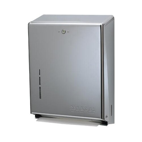 San Jamar C-Fold / Multifold Towel Dispensers in Chrome