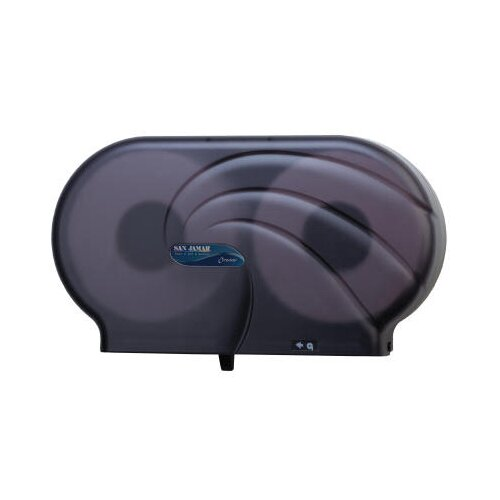 San Jamar Oceans Twin JBT Toilet Tissue Dispenser in Black Pearl