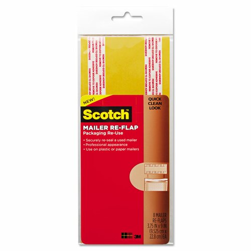 Scotch® Mailer Re-Flaps (Pack of 24)