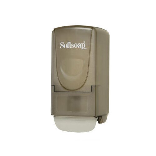 Softsoap Plastic Liquid Soap Dispenser in Gray