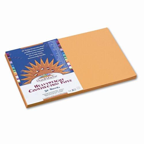 SunWorks® Construction Paper, 50 Sheets