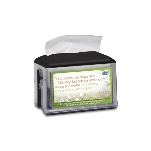 Tork® Xpressnap Napkin Dispenser in Black