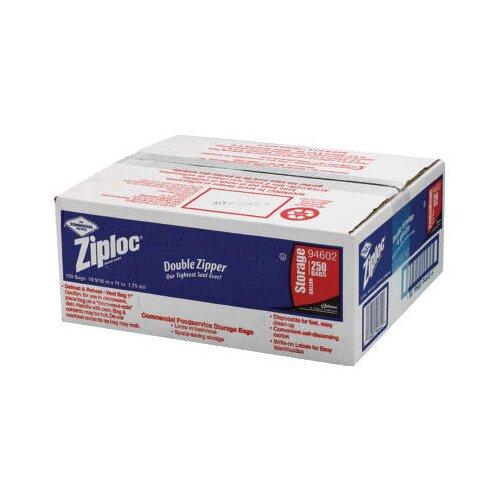 Ziploc® Double Zipper Bags in Clear