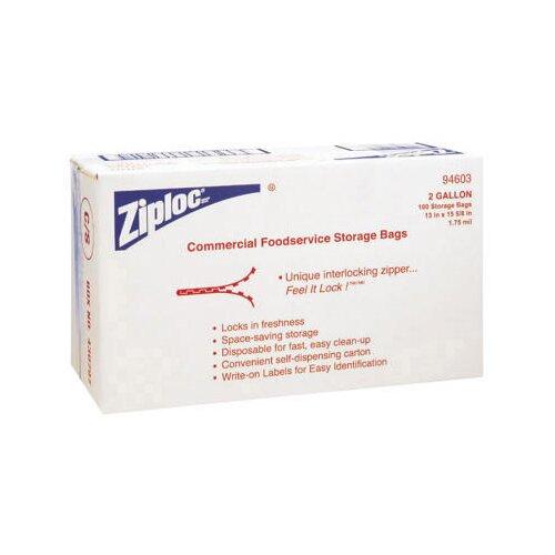"""Ziploc® 13"""" x 15.6"""" Double Zipper Bags in Clear"""