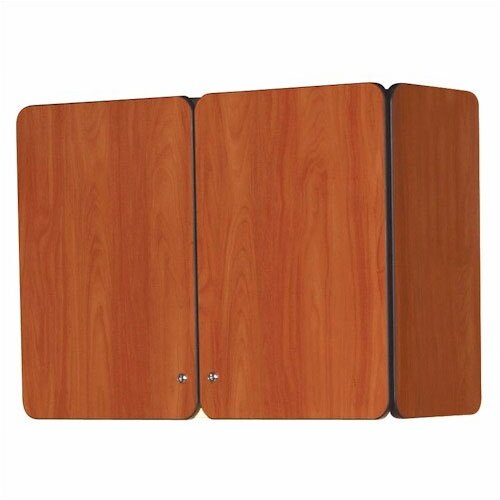 "Fleetwood Illusions 30"" H x 36"" W Wall Mounted Cabinet with Doors"