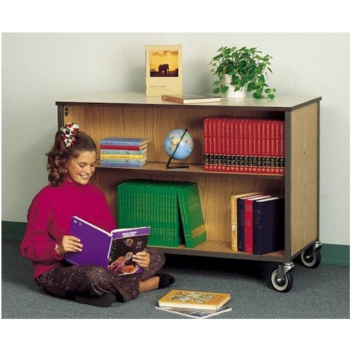 Fleetwood Mobile Double Sided Bookcase