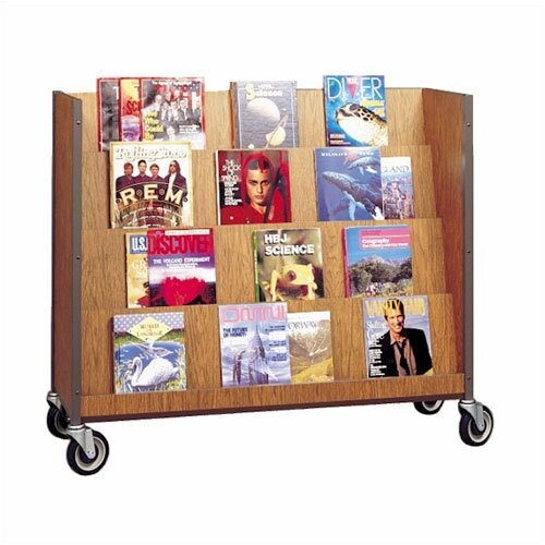Fleetwood Book and Magazine Display Book Truck