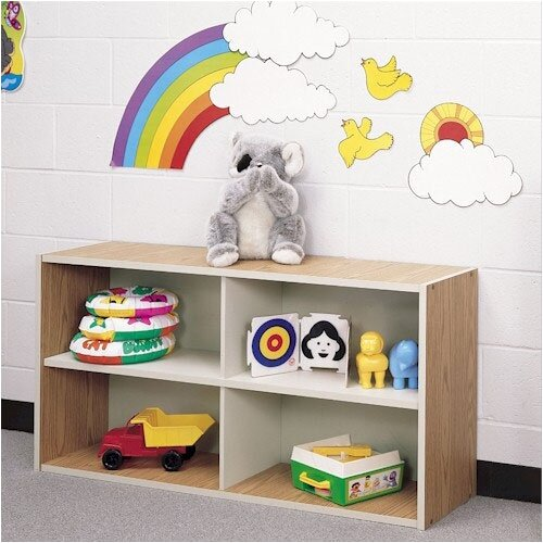 Fleetwood Koala-Tee Four Cubby Storage Shelves