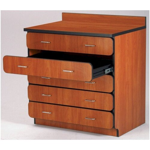 "Fleetwood Illusions 30"" H Base Drawer Cabinet with Four Drawers"