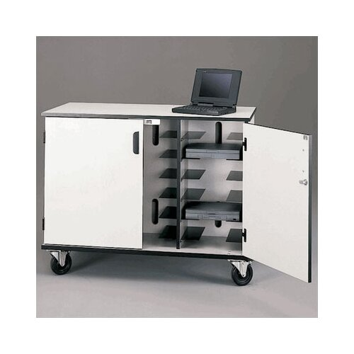 Fleetwood 15 - Compartment Mobile Laptop Storage with Charging Capabilities