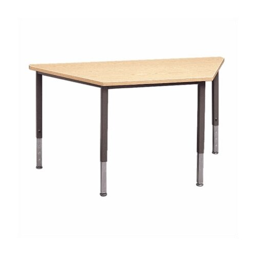 Fleetwood Trapezoid Table with Adjustable Height