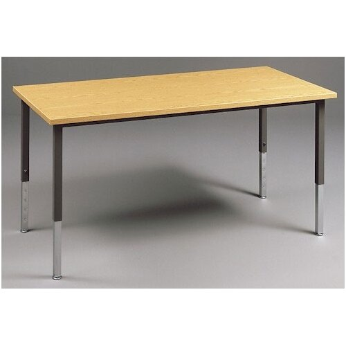 Fleetwood Multi Use Rectangular Table with Adjustable Height