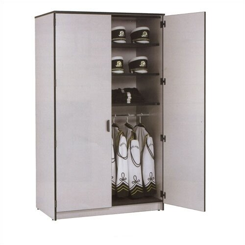 "Fleetwood Harmony 48"" W Folio Storage Cabinet with Four Columns and Optional Doors"
