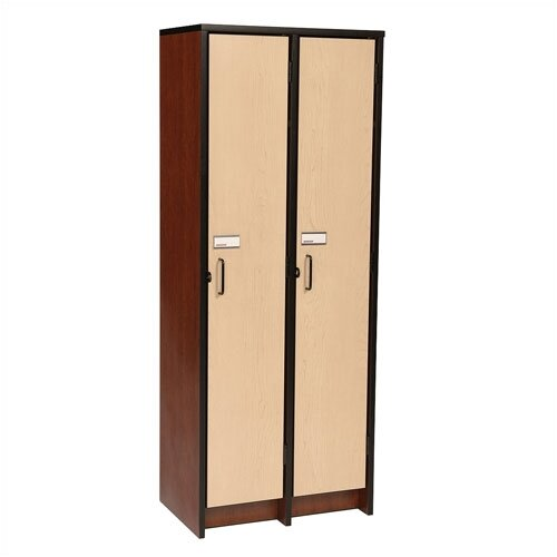 "Fleetwood 60"" H Two Unit Laminate Locker"