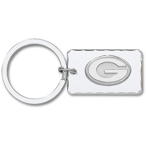 LogoArt® NFL Silvertone Key Chain with Sterling Silver Logo