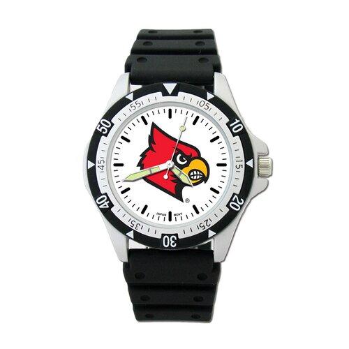 LogoArt® NCAA Team Logo Watch with Rubber Strap