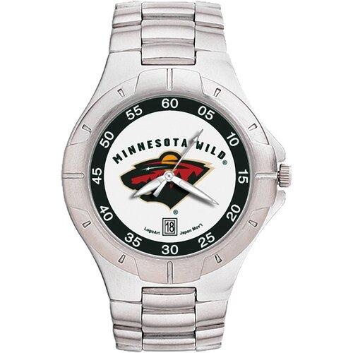 LogoArt® NHL Men's Pro II Bracelet Watch with Full Color Team Logo Dial