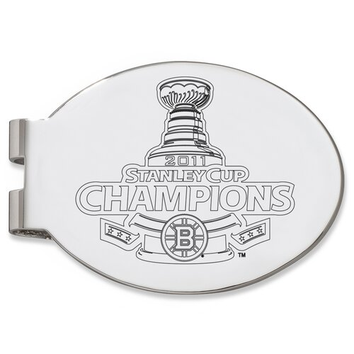 NHL Boston Bruins Stanley Cup Champions Money Clip