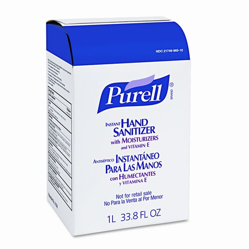 Purell® Advanced Instant Hand Sanitizer Nxt Refill, 8/Carton