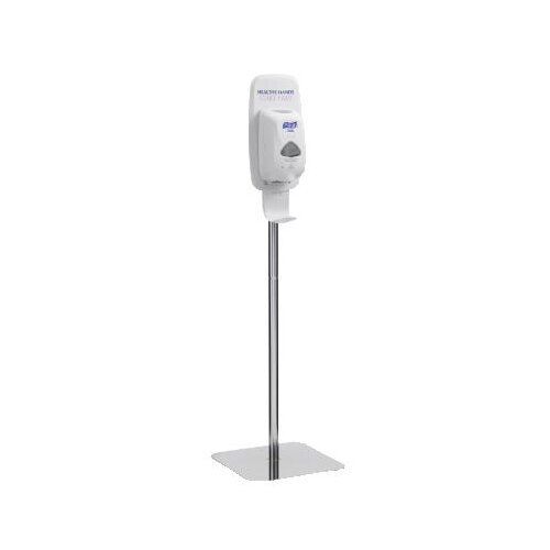 Purell® Purell TFX Floor Stand for TFX Touch Free Dispensers in Polished Chrome