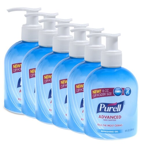 Purell® 8 oz. Original Car Cup Holder Hand Sanitizer with Pump