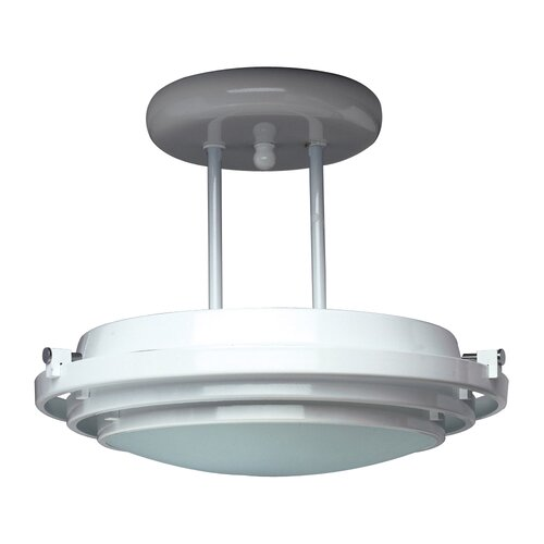 PLC Lighting Cascade Semi Flush Mount