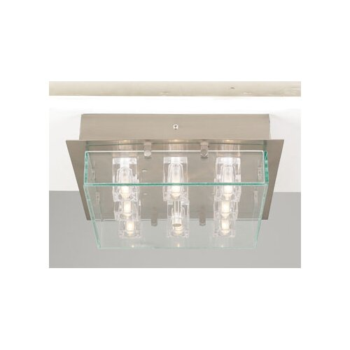 PLC Lighting Ice Cube Semi Flush Mount