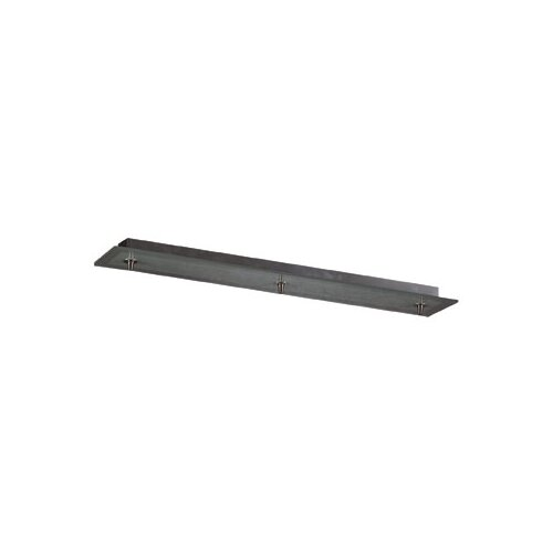 PLC Lighting Bar Pendant Canopy in Satin Nickel