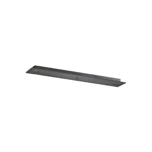 PLC Lighting Bar Pendant Canopy in Satin Nickel