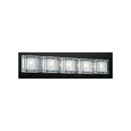 PLC Lighting Corteo 5 Light Vanity Light