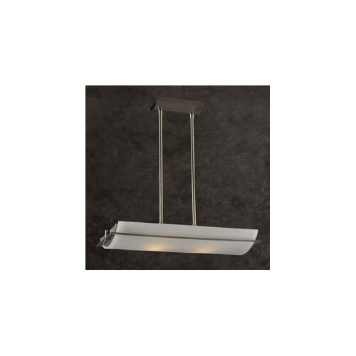 PLC Lighting Enzo 2 Light Inverted Pendant
