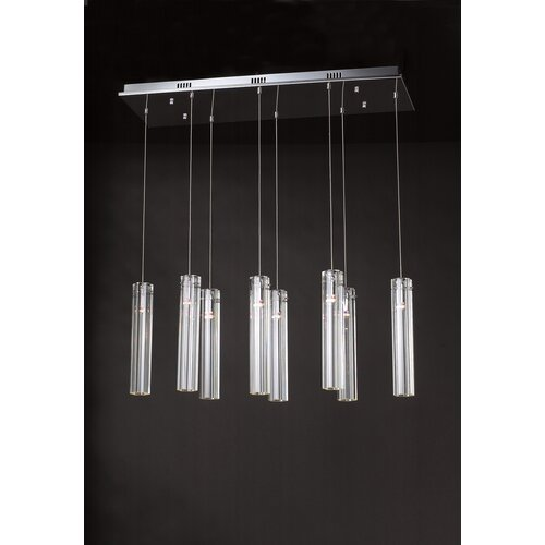 PLC Lighting Segretto 8 Light Pendant