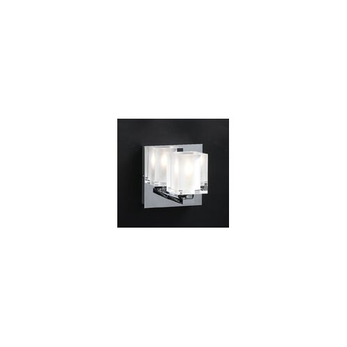 PLC Lighting Glacier  1 Light Wall Sconce