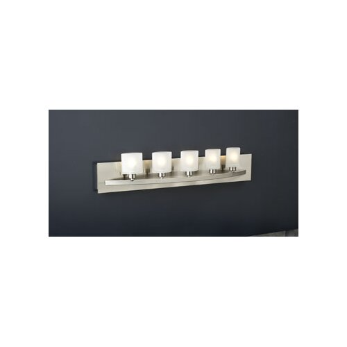 PLC Lighting Wyndham 5 Light Vanity Light