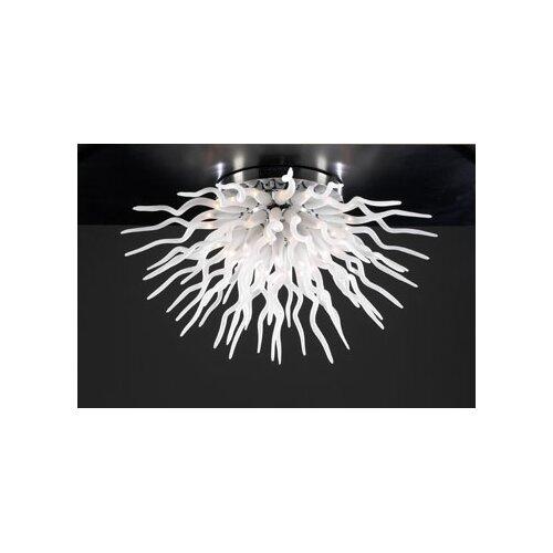 PLC Lighting Medusa Semi Flush Mount