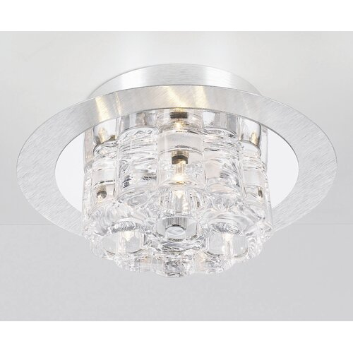 PLC Lighting Ice Age 3 Light Semi Flush Mount