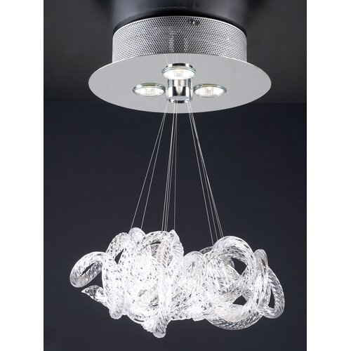 PLC Lighting Elegance 3 Light Pendant