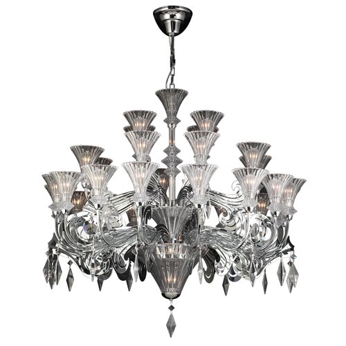 Zsa Zsa 32 Light Crystal Chandelier