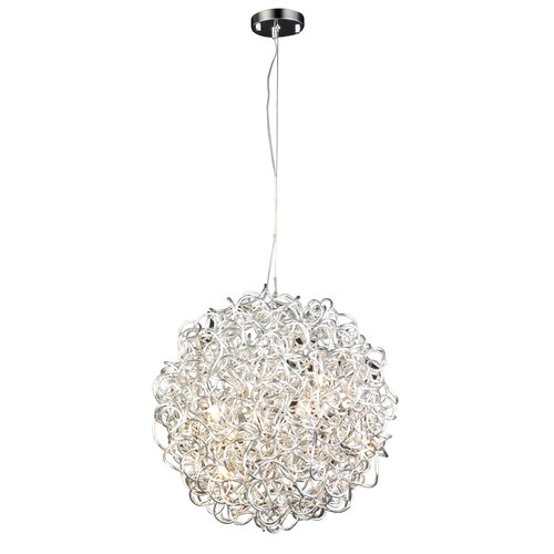 PLC Lighting Fireball-II 6 Light Pendant