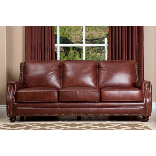 Bel Air Leather Sofa