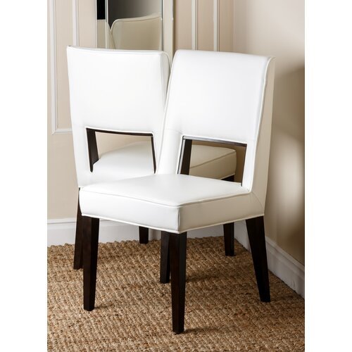 Suix Leather Dining Chair (Set of 2)