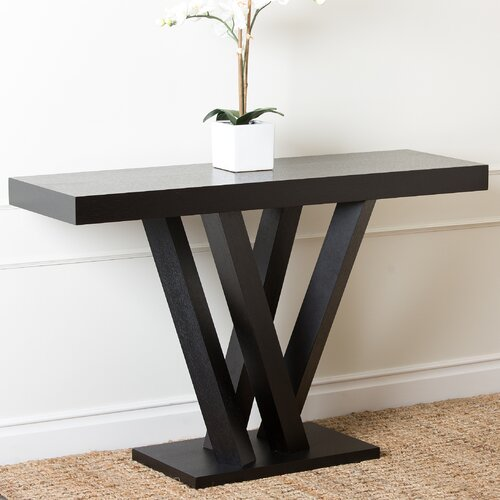 Kinlin Espresso Wood Sofa Table