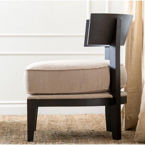 Abbyson Living Fairfax Fabric Slipper Chair