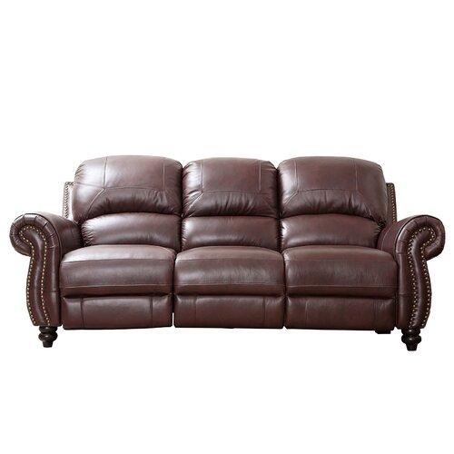 Charlotte Leather Reclining Sofa