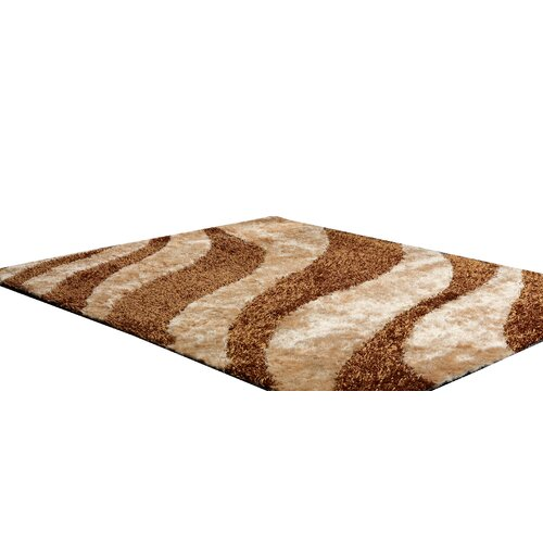 Jasmine Gold Shag Indoor/Outdoor Rug