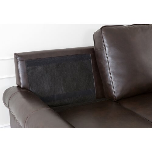 Abbyson Living Bliss Leather Sofa