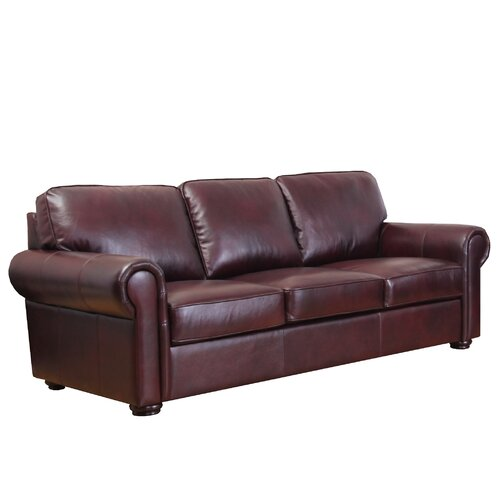 Meghan Leather Sofa